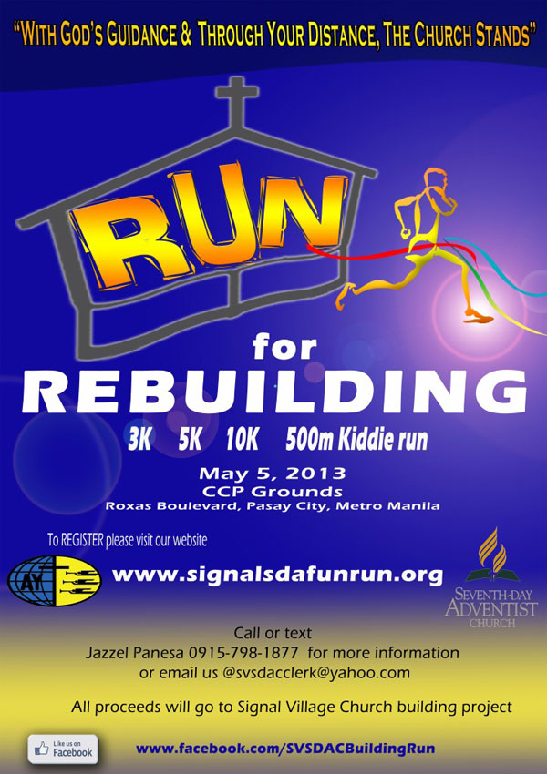 #Signal-Village-SDA-Fun-Run-Poster