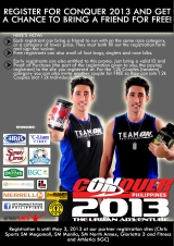 Promo: Bring a friend and Conquer Philippines 2013