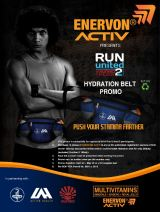 Promo: Enervon Activ Hydration Belt Promo, be an eco-friendly runner this Run United 2 2013