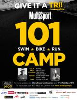 Swim, Bike, Run at MultiSport 101 Camp 2013 (1st Leg)