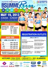 SlimmeRun 2013 3k/5k/10k/21k – Bonifacio Global City, Sunday, May 19, 2013