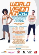 World Vision Run 2013 5k/10k/21k – Bonifacio Global City, Sunday, June 23, 2013