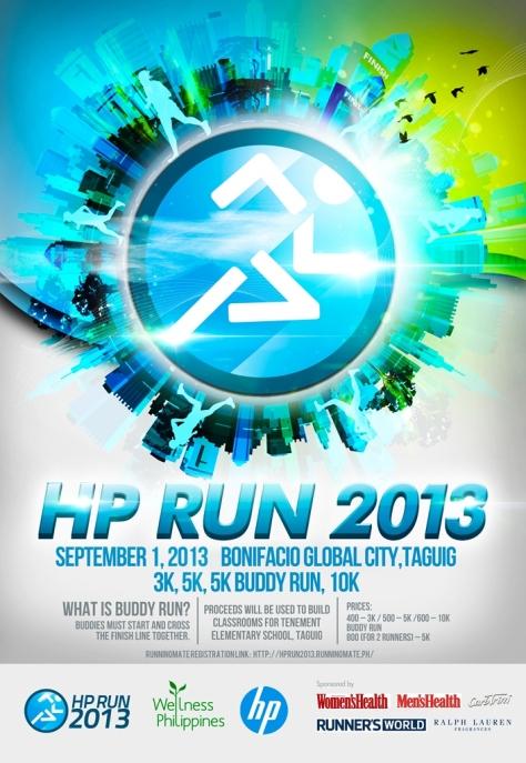 hp run 2013 poster