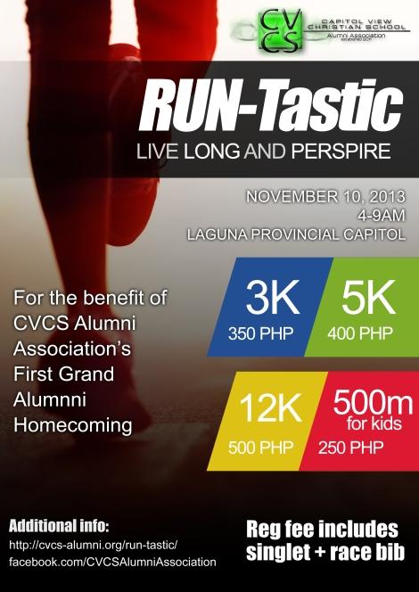 Run-Tastic Live Long and Perspire – November 10, 2013