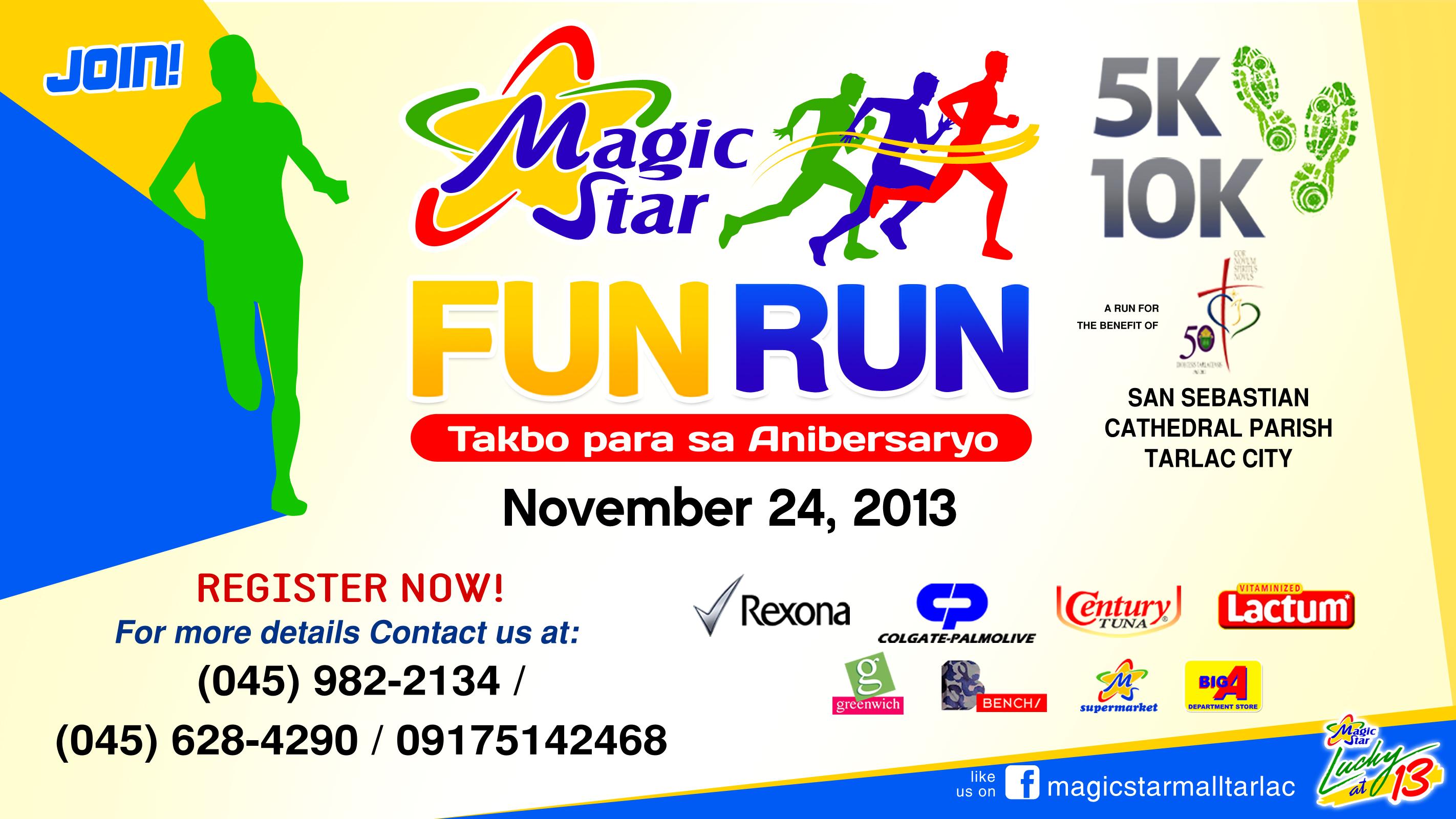 Magic Star Fun Run 2013 – November 24, 2013