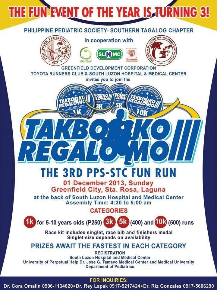 Takbo Mo Regalo Mo III – December 01, 2013