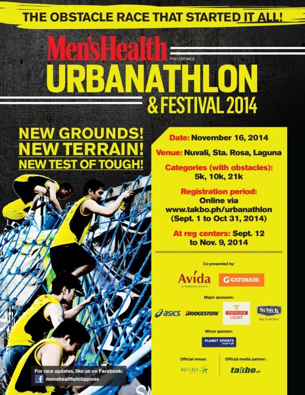MH URBANATHLON 2014 - poster